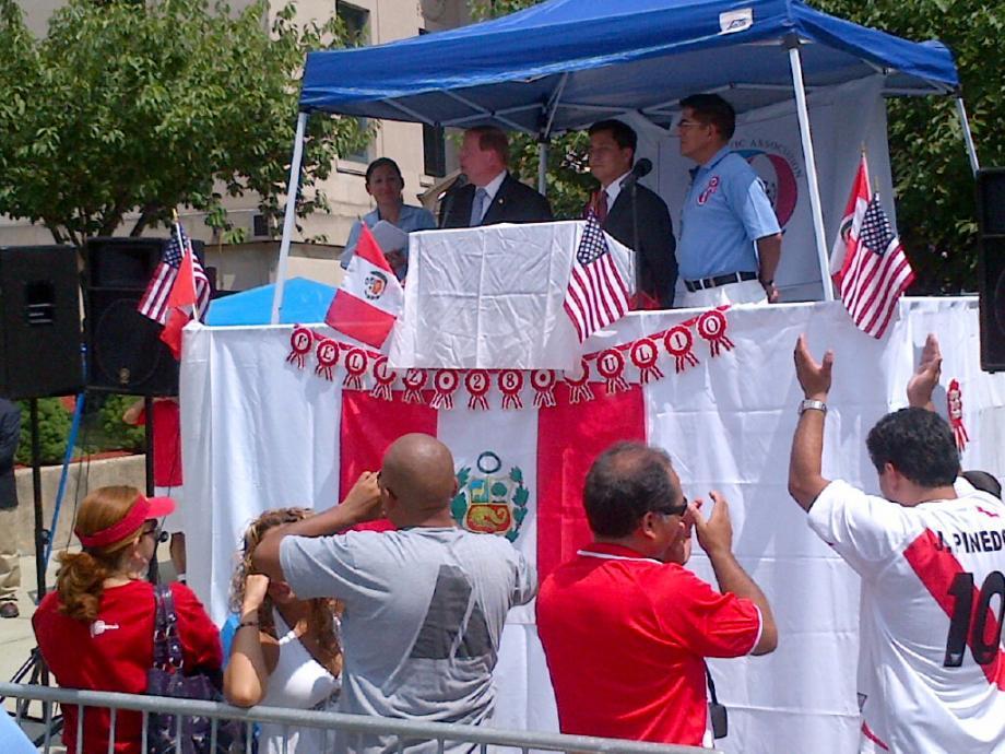 New Jersey Peruvian Parade in Kearny