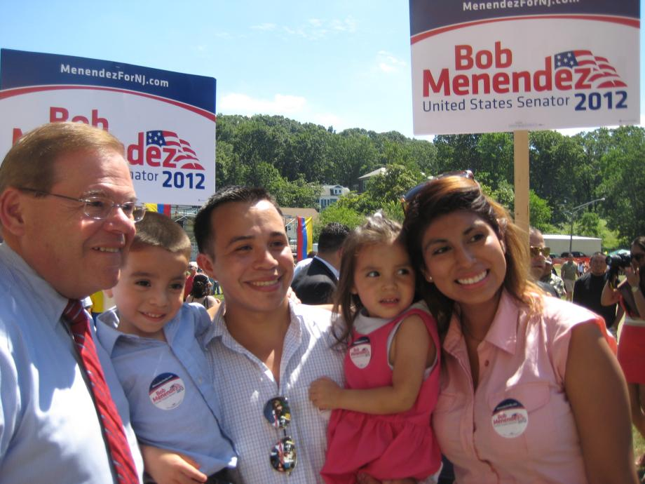 Celebrating Colombia's Independence Day in Dover Township