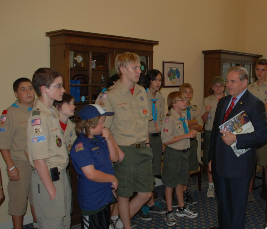 Boy Scouts Troop 331 from Holmdel, NJ visit Washington (Washington, DC)
