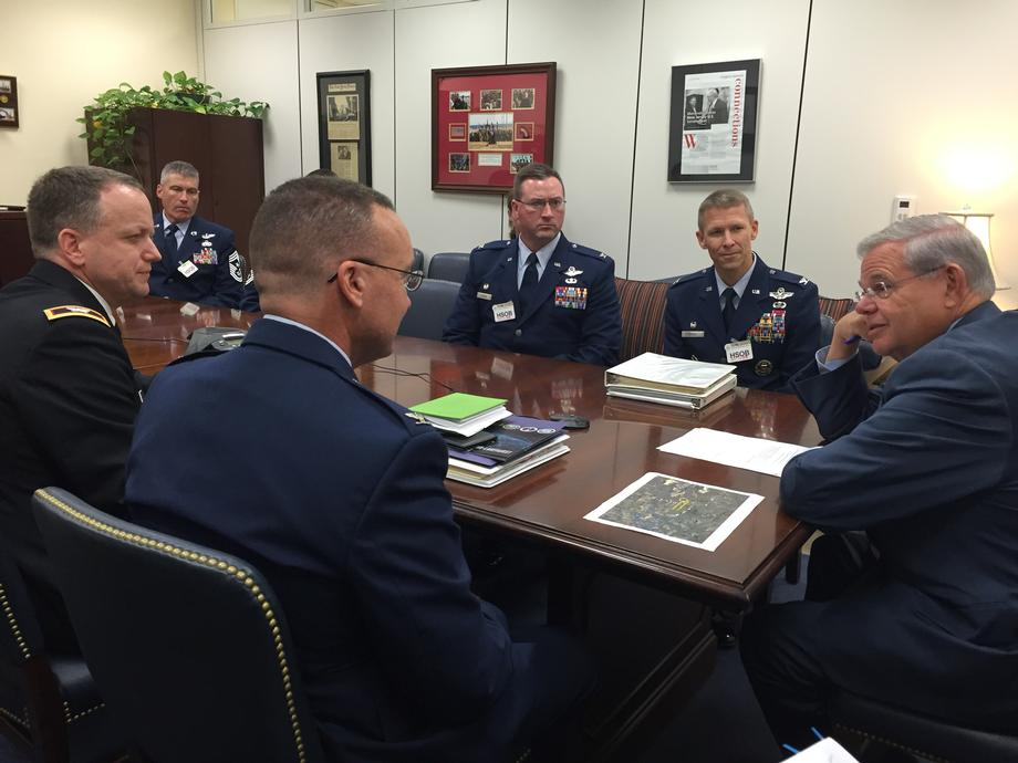 Joint Base MDL Commanders Visit