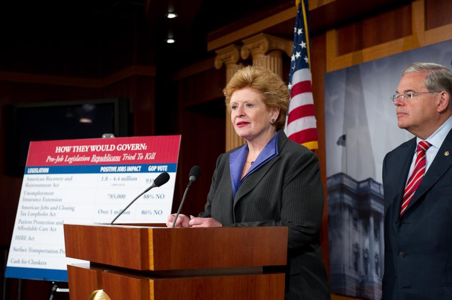 Discussing Republican Job-Killing Agenda (Washington, DC)