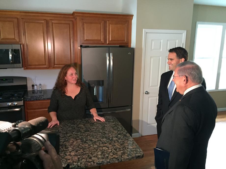 Belmar Visit to Commemorate Sandy Anniversary