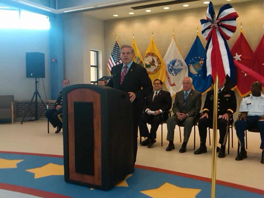 Menendez Attends Ribbon-Cutting for New Multi-Purpose Room for Paramus Veterans Memorial Home (Paramus, NJ)