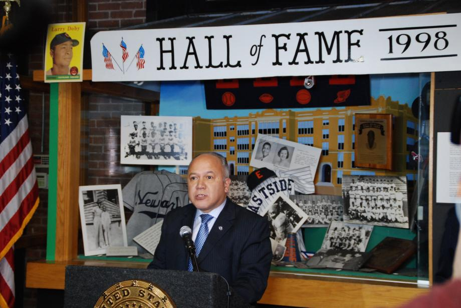 Senator Bob Menendez and Rep. Bill Pascrell, Jr. announced that legislation introduced by both lawmakers in their respective chambers designating historic Hinchliffe Stadium as part of Paterson's Great Falls National Historical Park is headed to President Obama's desk for his signature.