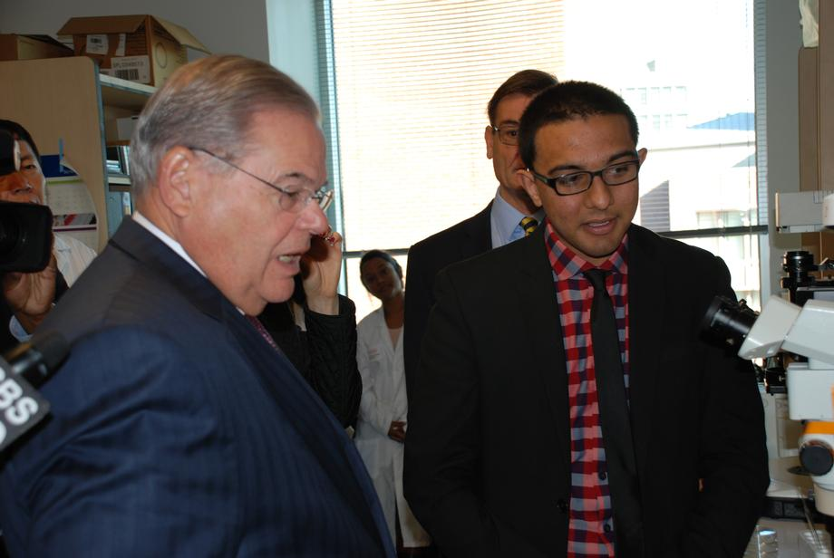 Sen. Menendez has long been a champion of more federal funding for research into Alzheimer's and traumatic brain injury treatments