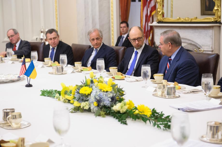 Ukraine's Prime Minister Yatsenyuk Meets with SFRC