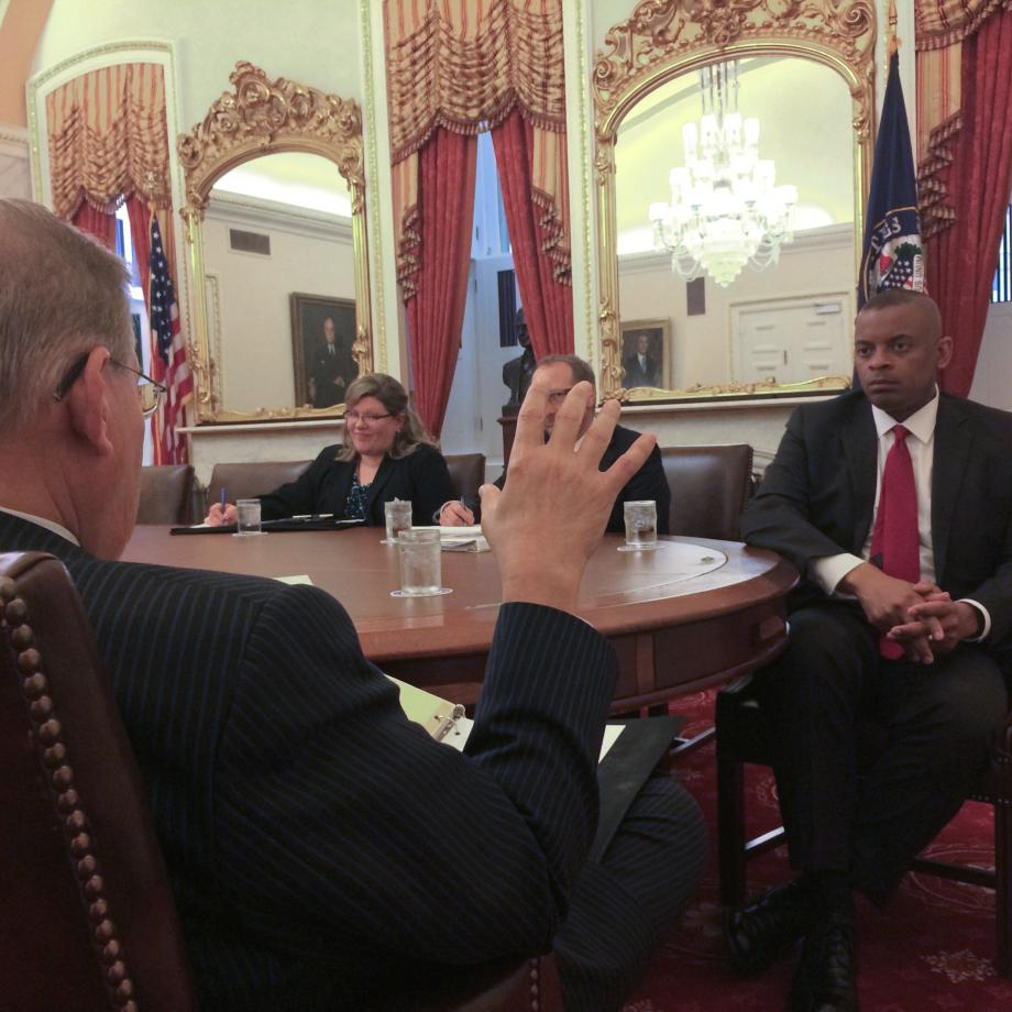 Meeting with Secretary of Transportation Foxx