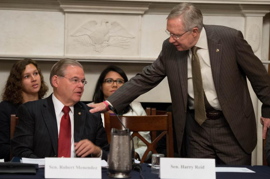 Sens. Menendez and Reid