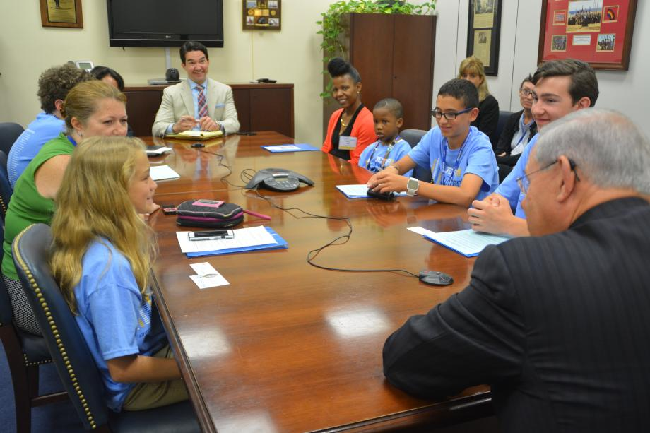 NJ Juvenile Diabetes Research Foundation Reps Visit