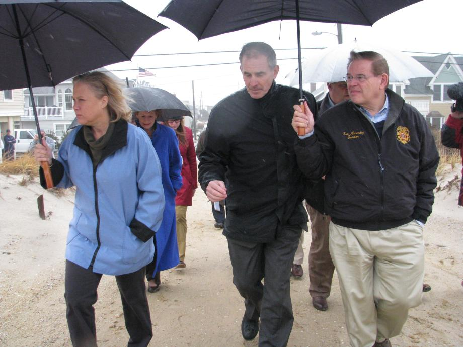 Senate Hurricane Sandy CODEL