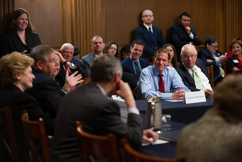 Democratic Steering and Outreach Committee weekly meeting on Immigration Reform