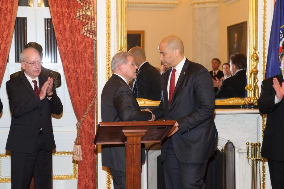Swearing-In for Chemical Safety Board's Rick Engler