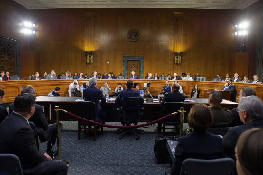 The Senate Foreign Relations Committee holds a hearing on the President's request for an Authorization for Use of Military Force (AUMF) against ISIL.