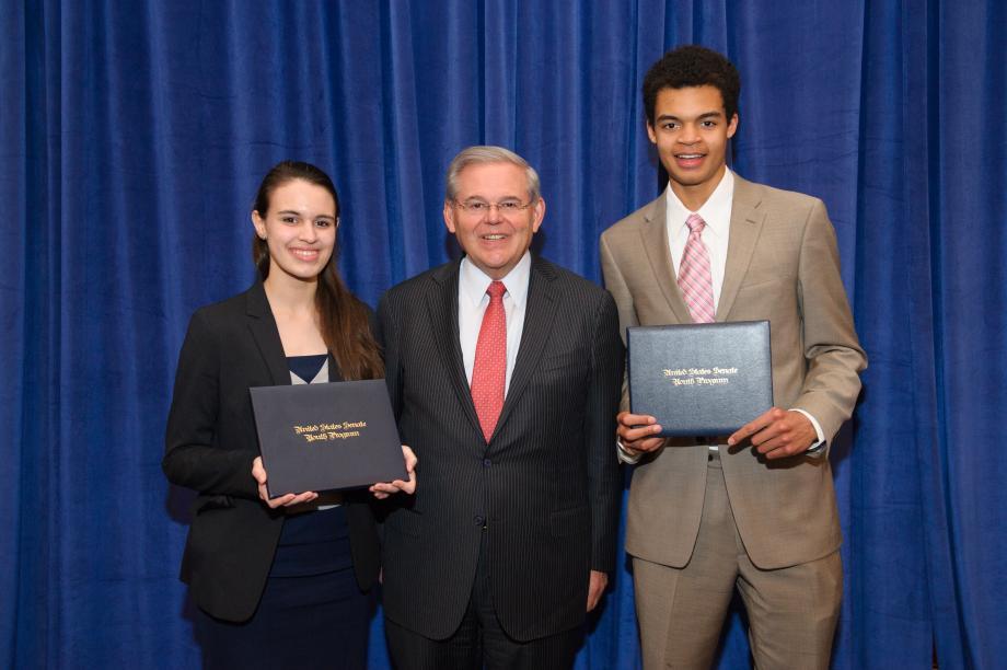 2015 NJ Senate Youth Delegates