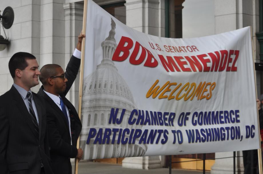 Menendez Staffers Welcome New Jersey Chamber of Commerce (Washington D.C.)