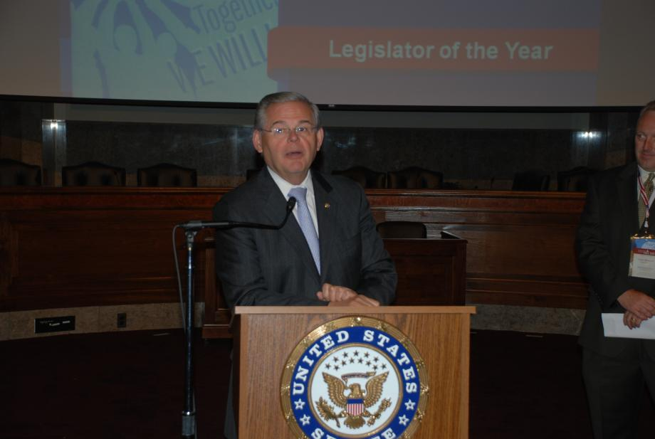 Legislator of the Year Award from the National Council for Community Behavioral Healthcare (Washington, DC)