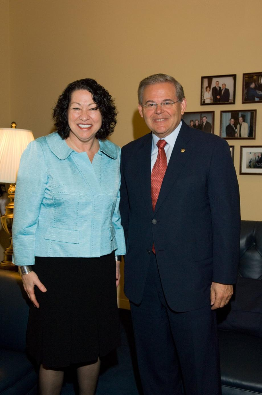 Meeting with Judge Sonia Sotomayor on her nomination to the Supreme Court (Washington, DC)