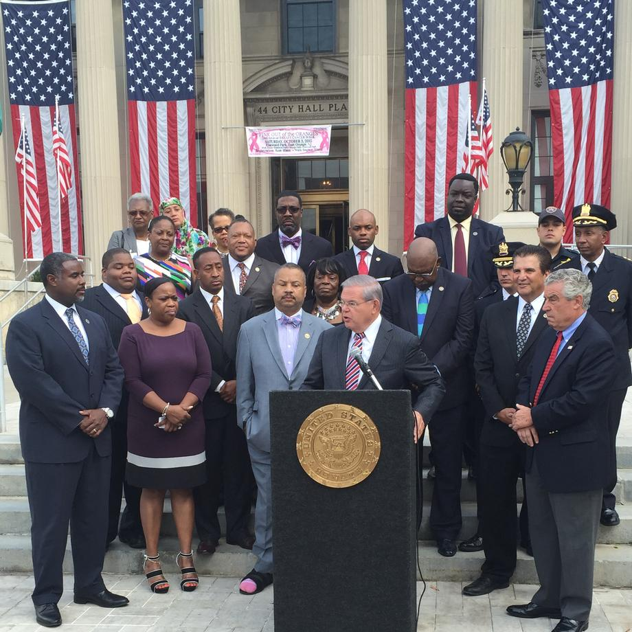 COPS Funding Announcement in East Orange