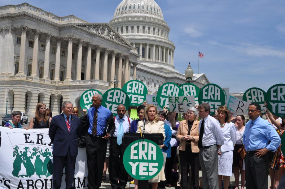 Menendez Reaffirms Support for ERA (Washington, DC)