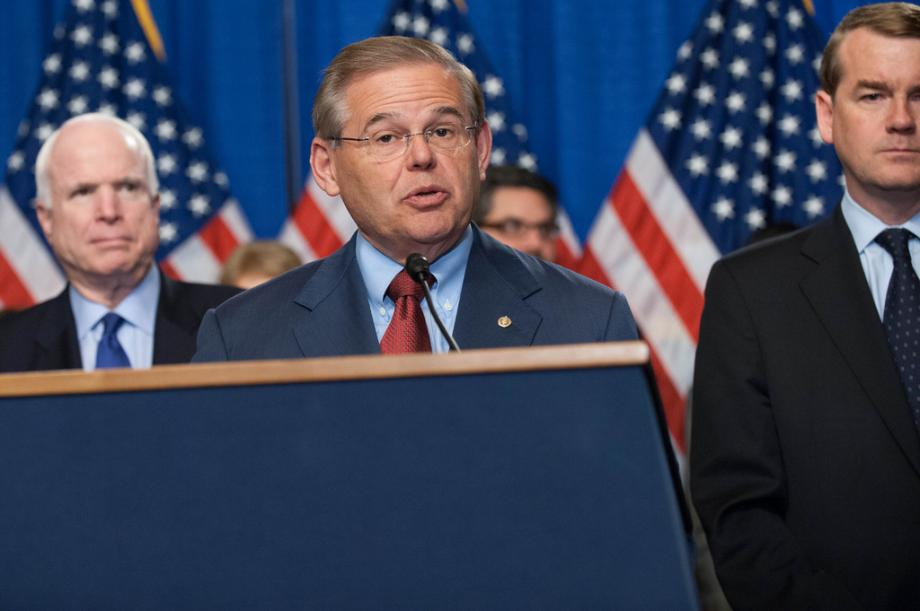 "Menendez and the ""Gang of 8"" Introduce Comprehensive Immigration Reform"