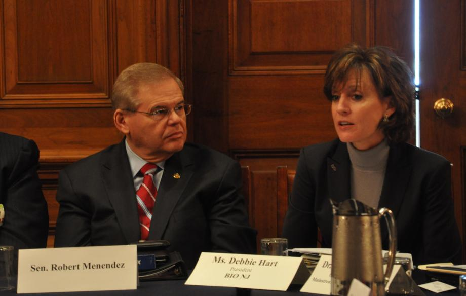 Menendez Hosts NJ Small Business Leaders Nation's Capital