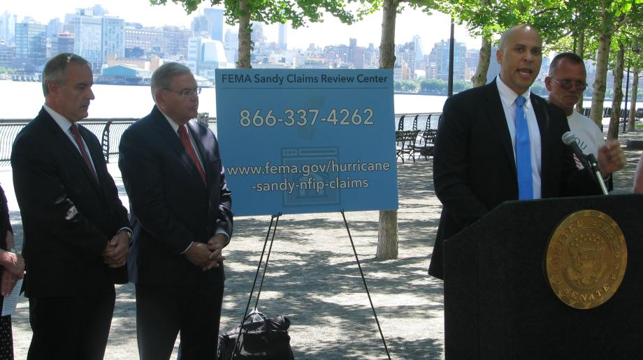 Sandy Claims Review Process Press Conference