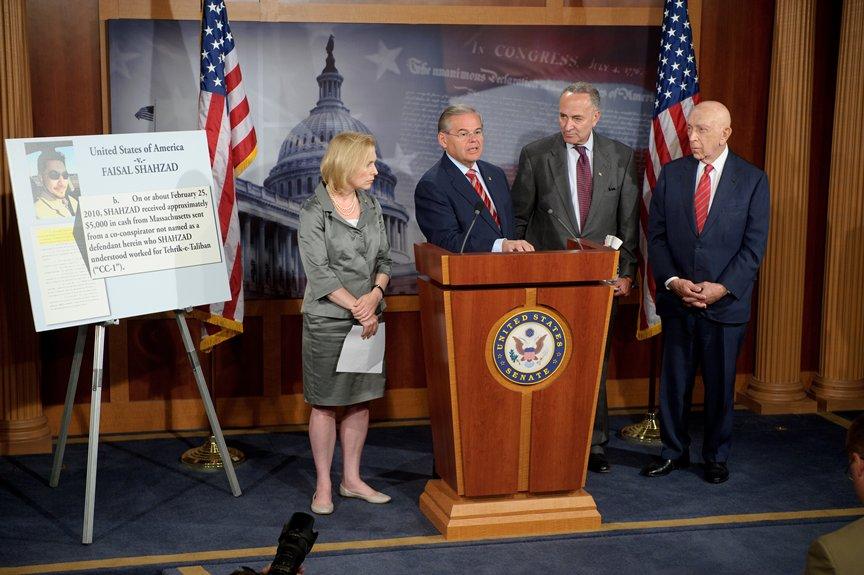 Announcing Bill to Automatically Designate Pakistani Taliban as Terrorist Group (Washington, DC)