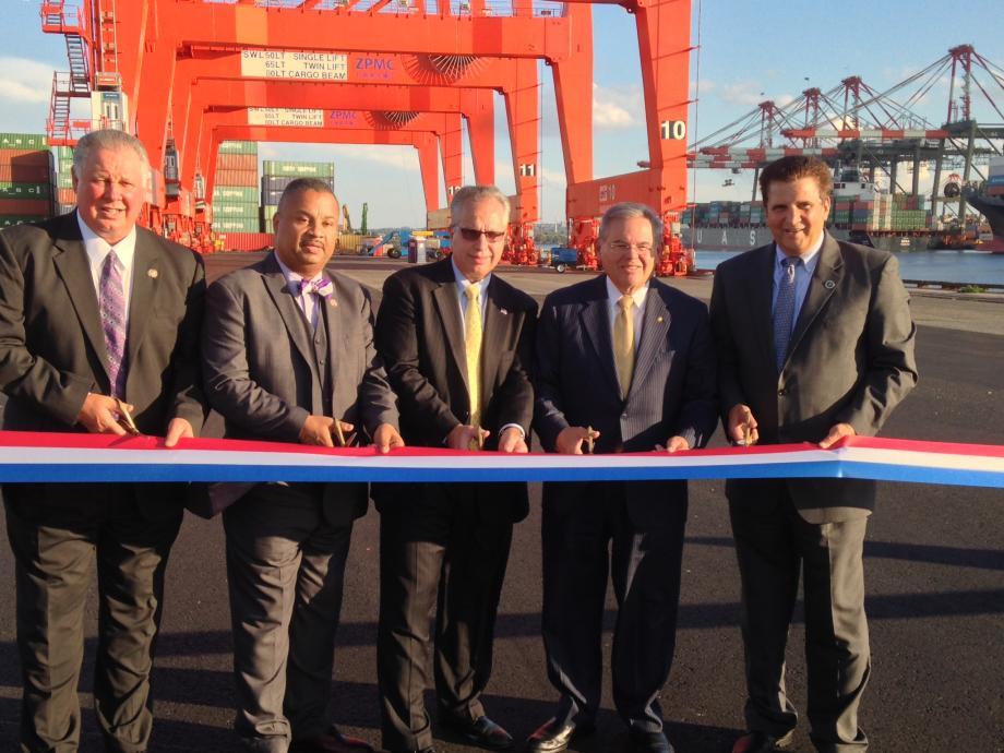 Port of Newark Container Terminal Crane Dedication