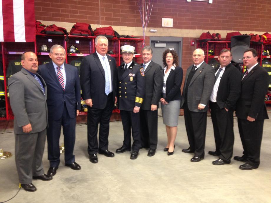 Bayonne Fire House Dedication