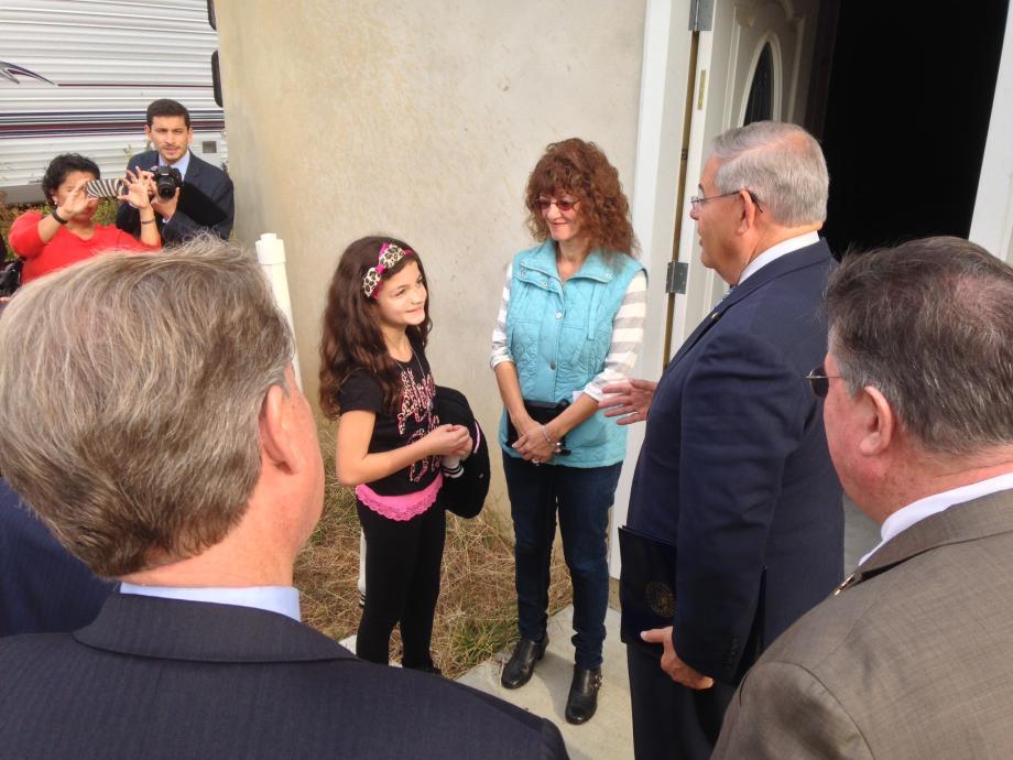 NJ Sandy Tour with HUD Sec. Castro