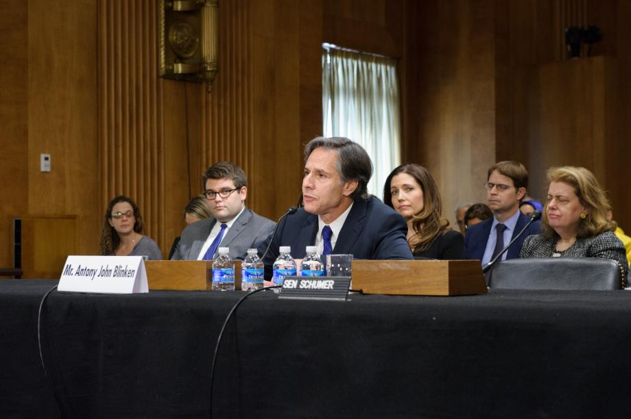 Deputy Secretary of State Nomination Hearing