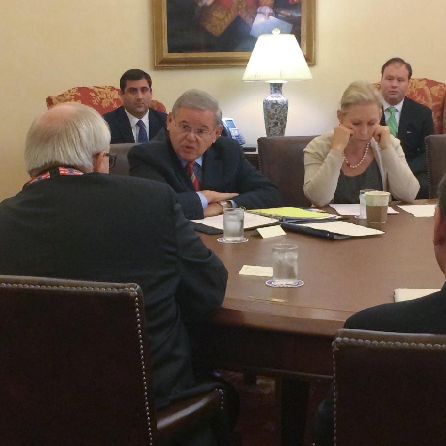 Meeting with FEMA
