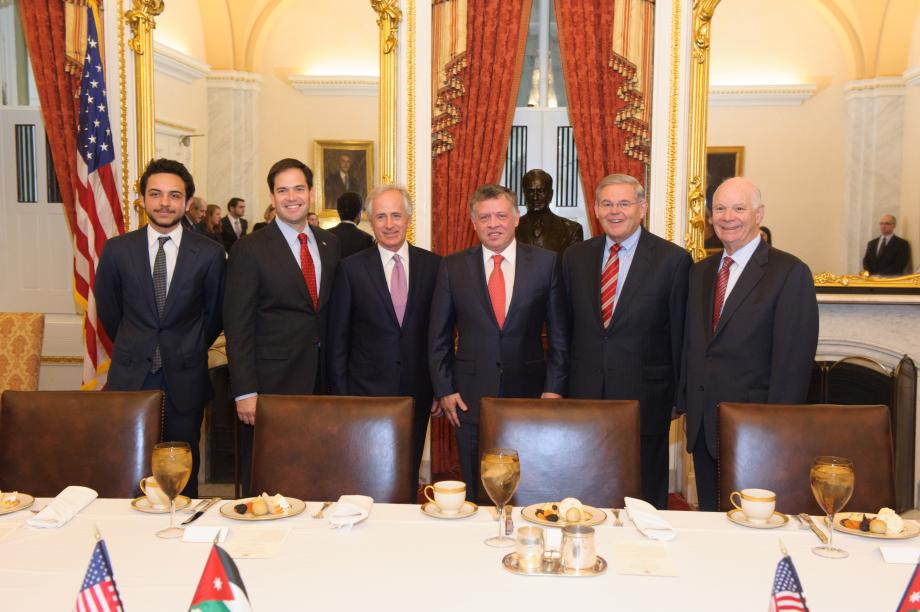 King Abdullah II of Jordan Visits