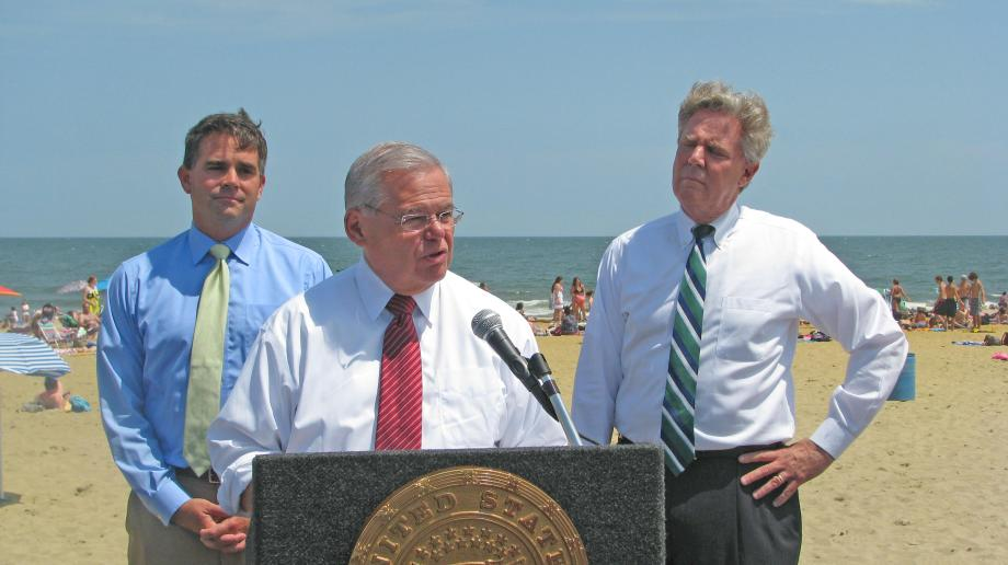 Belmar Anti-Offshore Drilling Press Conference
