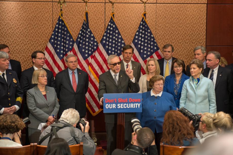 Senate Dems: Don't Shut Down Our Security