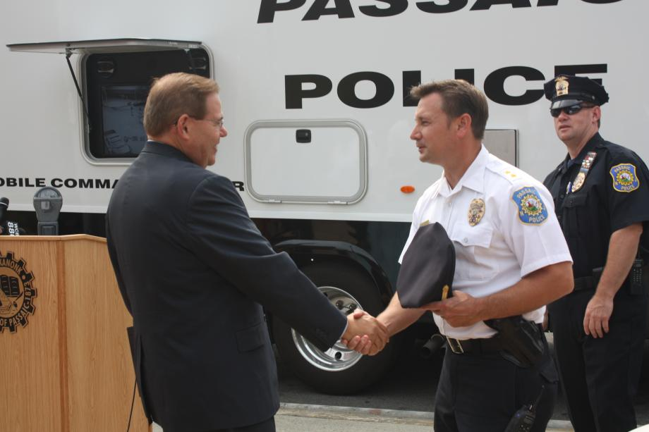 Menendez, Pascrell Announce Public Safety Grant for Passaic County Police Departments