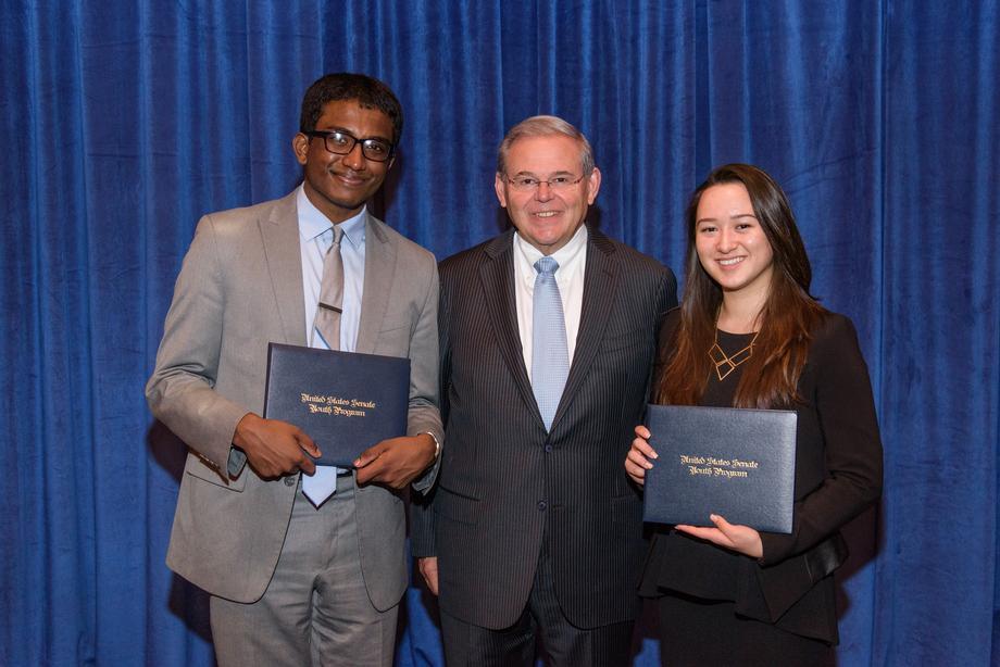 US Senate Youth Program Reception