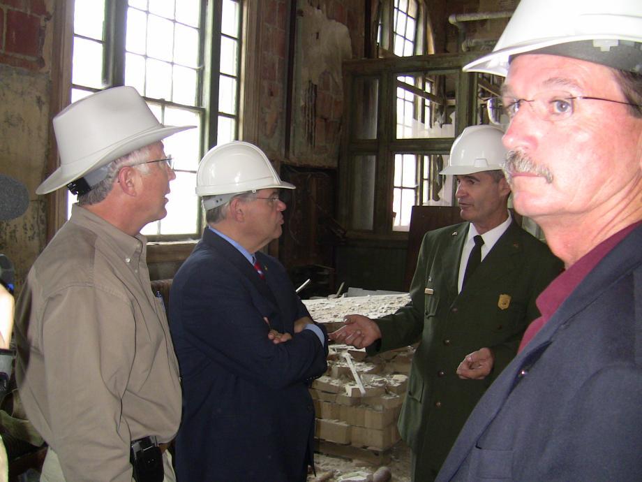 Economic Recovery Projects  in Ellis Island (Ellis Island, NY)