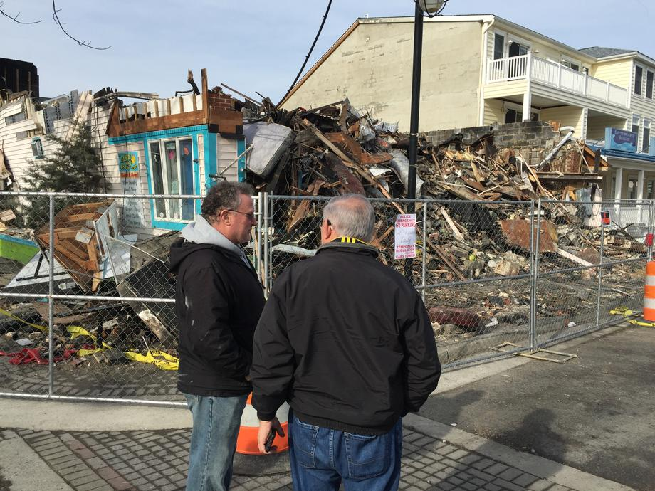 Winter Storm Jonas Flood Damage Tour